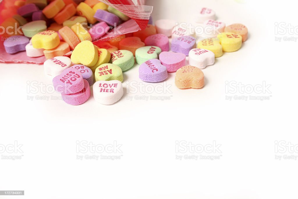 Valentine candies royalty-free stock photo