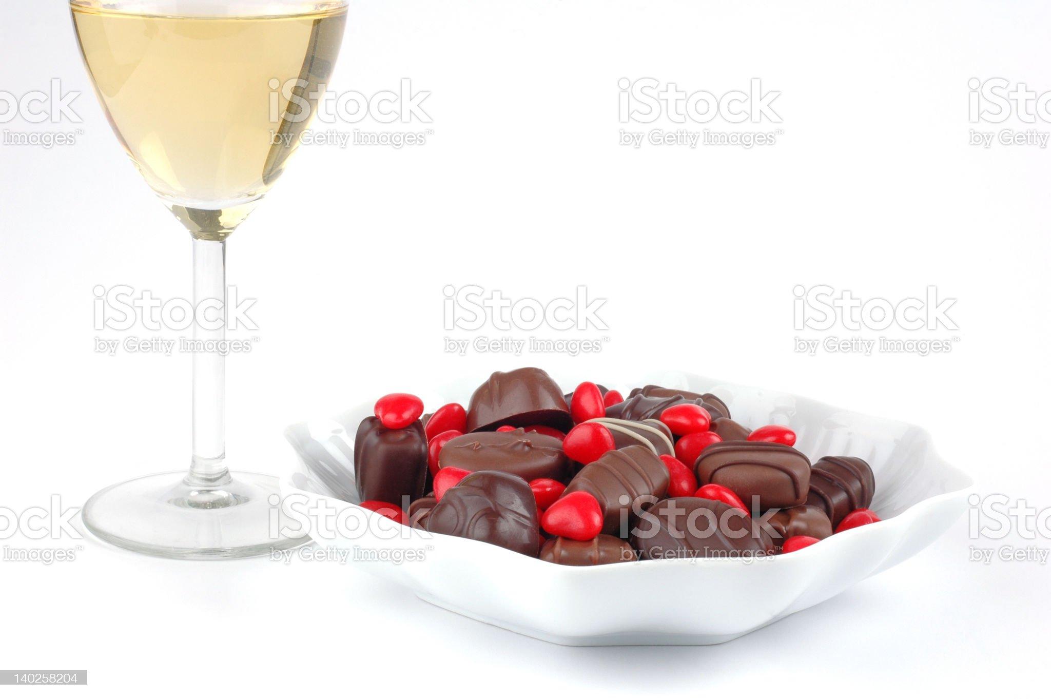 Valentine Candy royalty-free stock photo