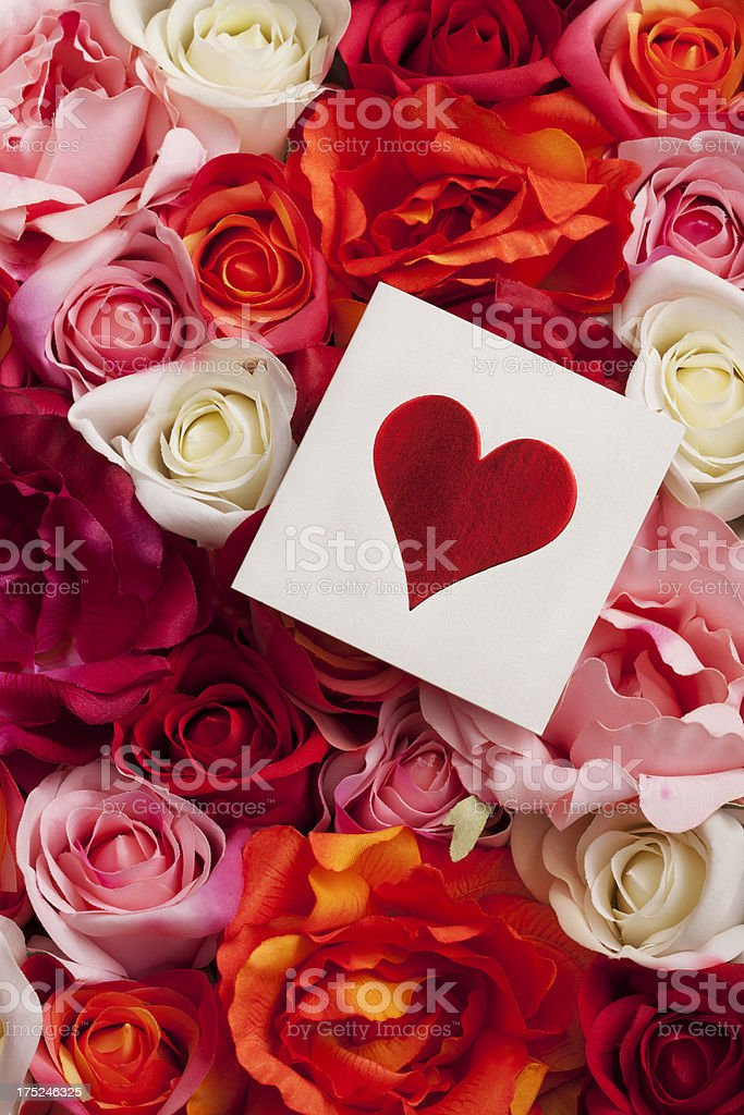 Valentine Card royalty-free stock photo