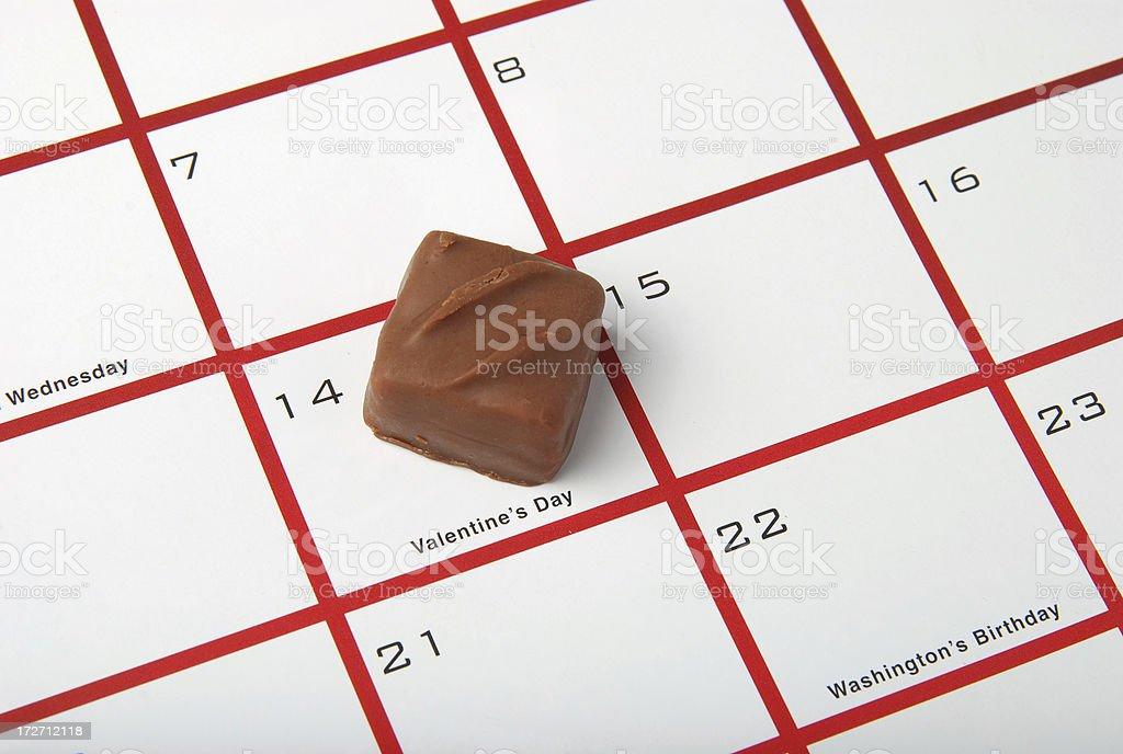 valentine chocolate royalty-free stock photo