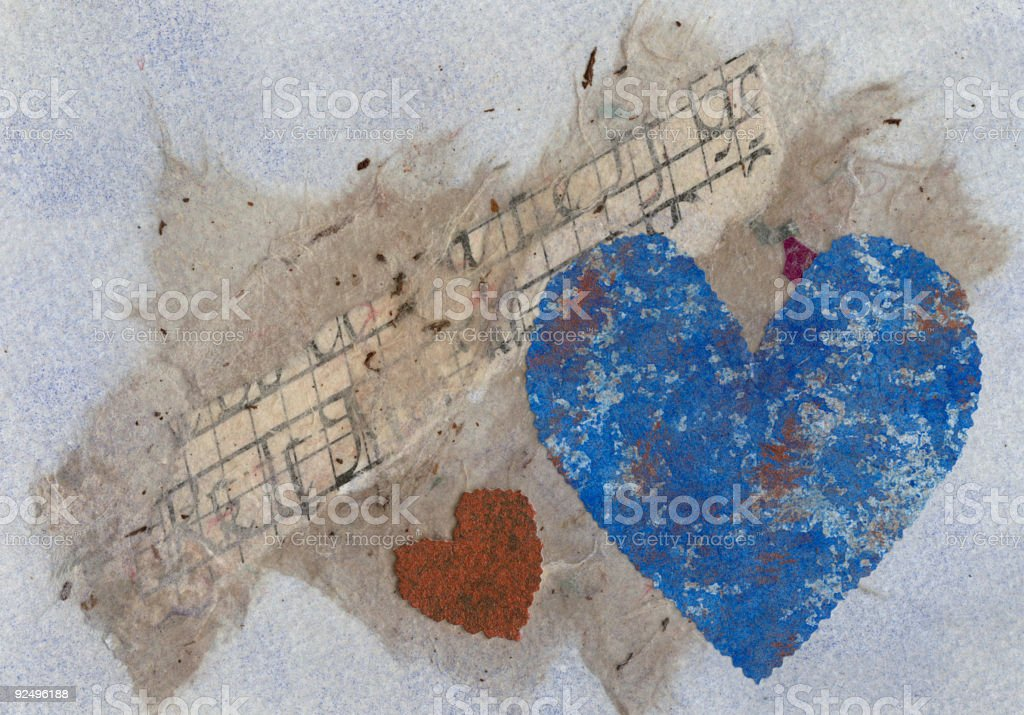 Valentine Collage royalty-free stock photo