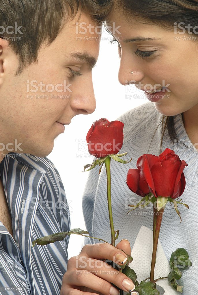 Valentine couple royalty-free stock photo