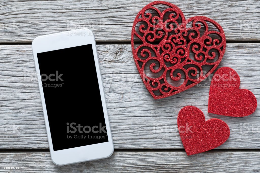 valentine day online shopping background with copy space stock, Ideas