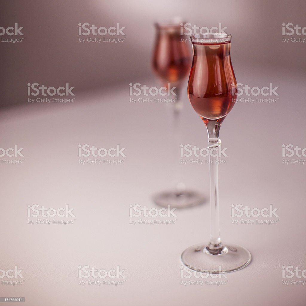 Valentine drinks royalty-free stock photo
