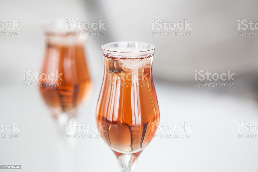 Valentine drinks royalty-free stock photo