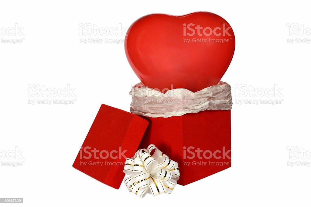 Valentine Gift 1 royalty-free stock photo