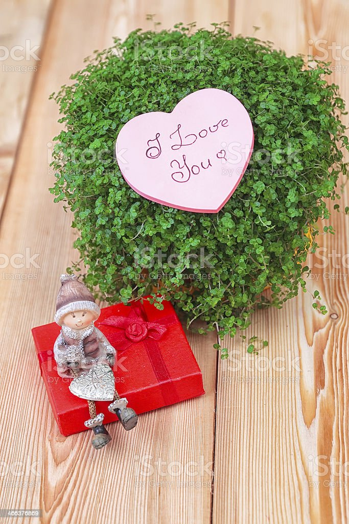 Valentine greeting card royalty-free stock photo