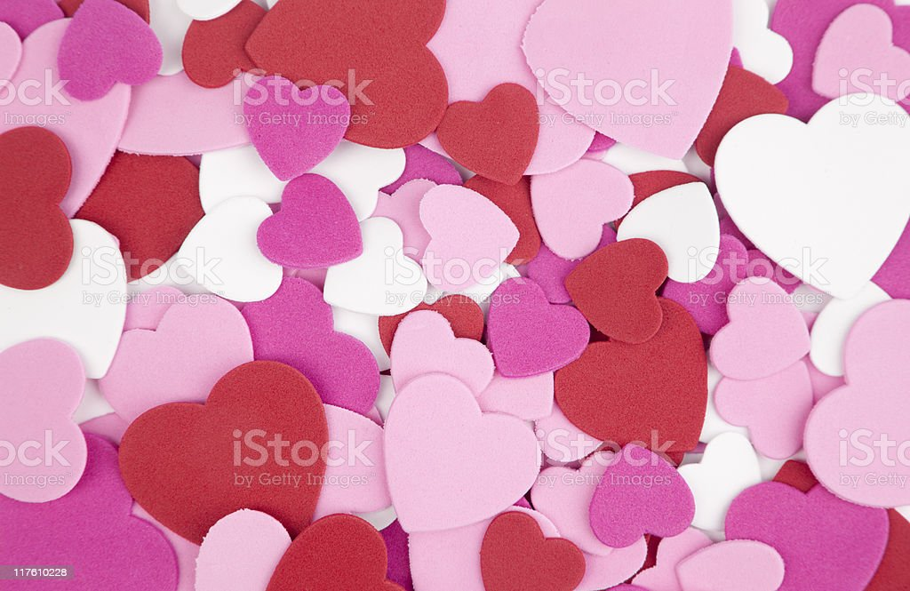 Valentine Heart Background, Pink, Red, White, Design, royalty-free stock photo