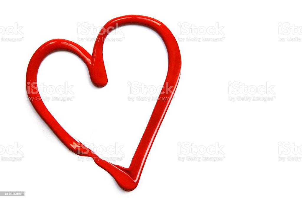 valentine heart royalty-free stock photo