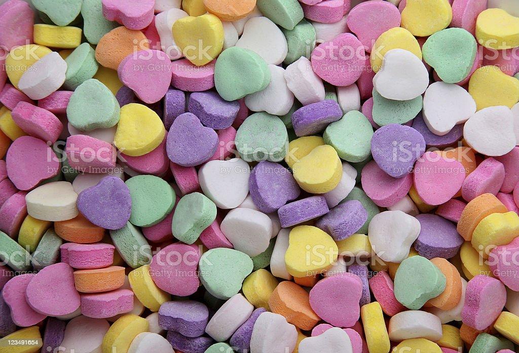 Valentine hearts background royalty-free stock photo