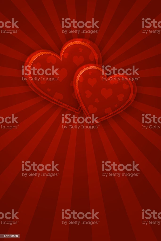 Valentine Hearts(XL) royalty-free stock photo