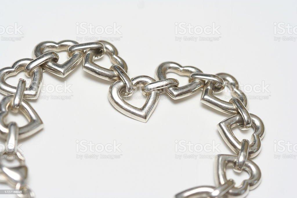 Valentine Jewelery stock photo