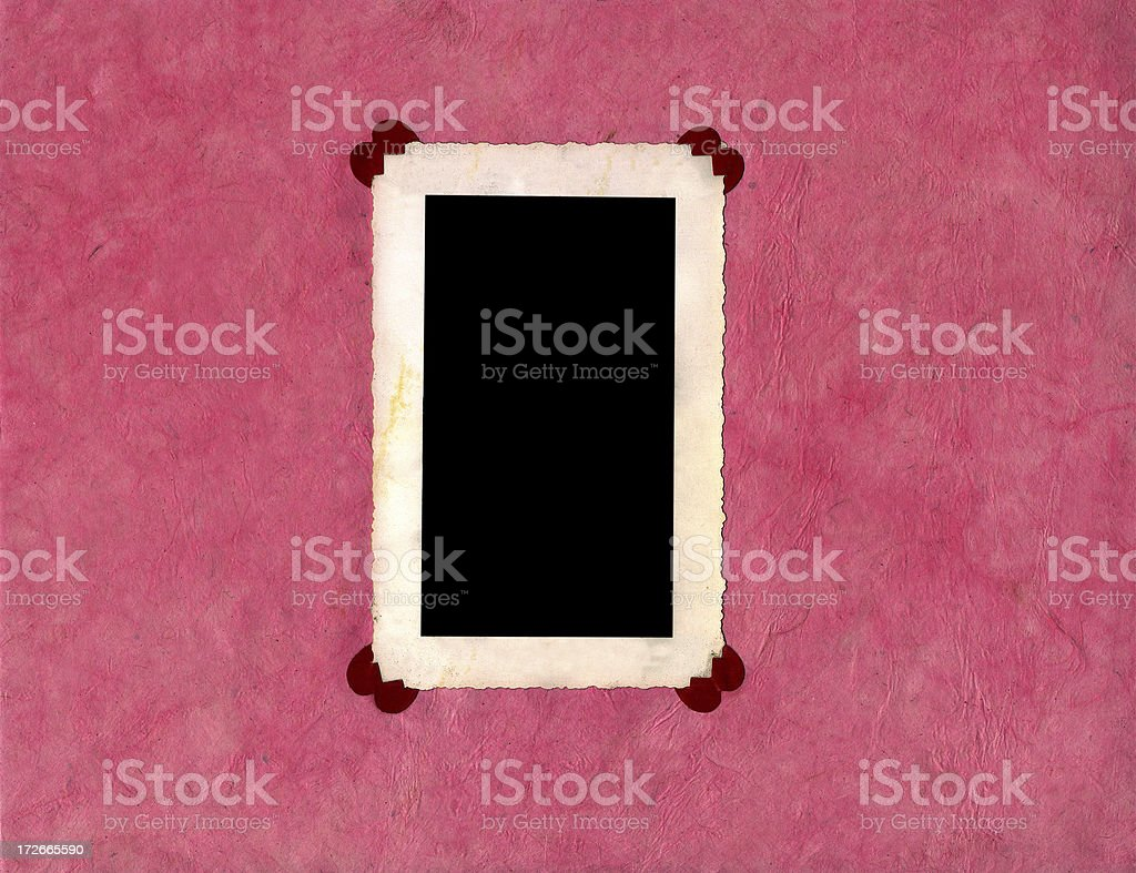 valentine photo page royalty-free stock photo