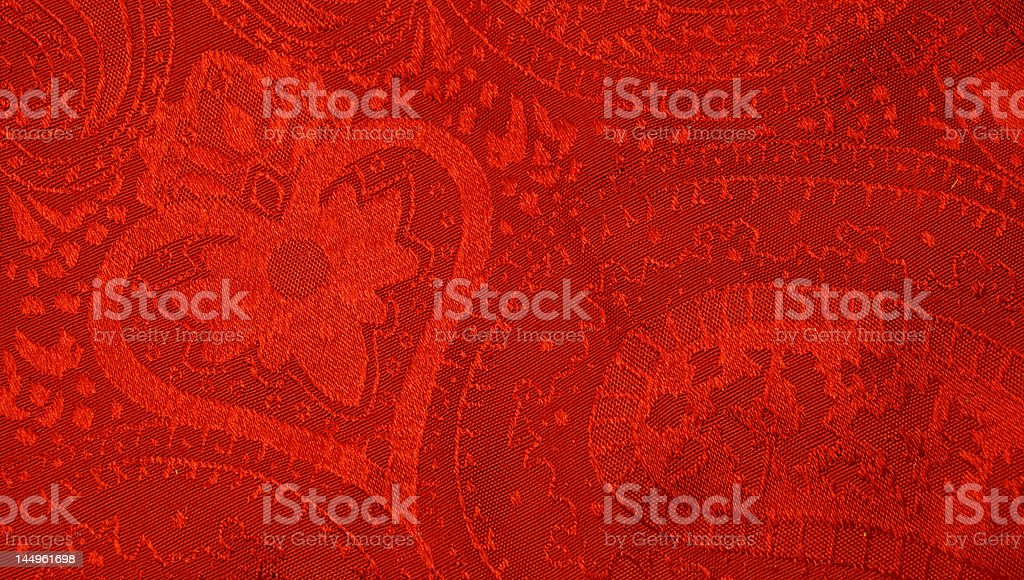 valentine tablecloth royalty-free stock photo