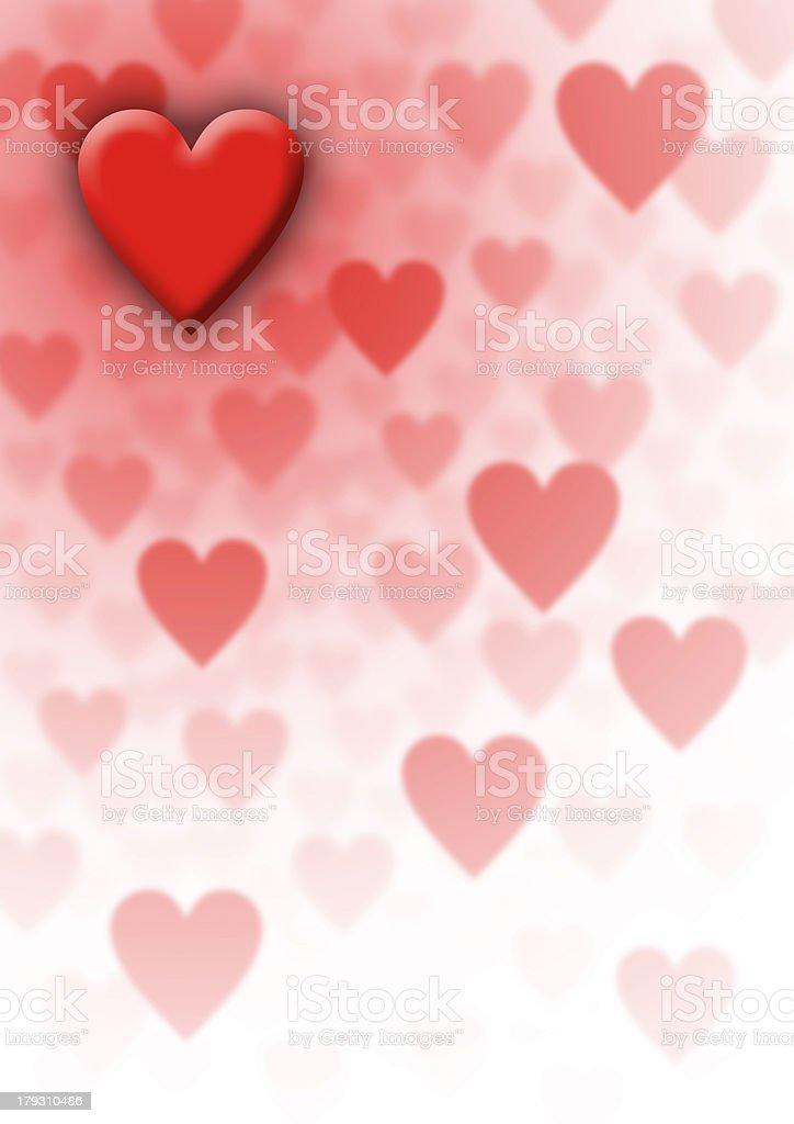 Valentine's Background royalty-free stock photo