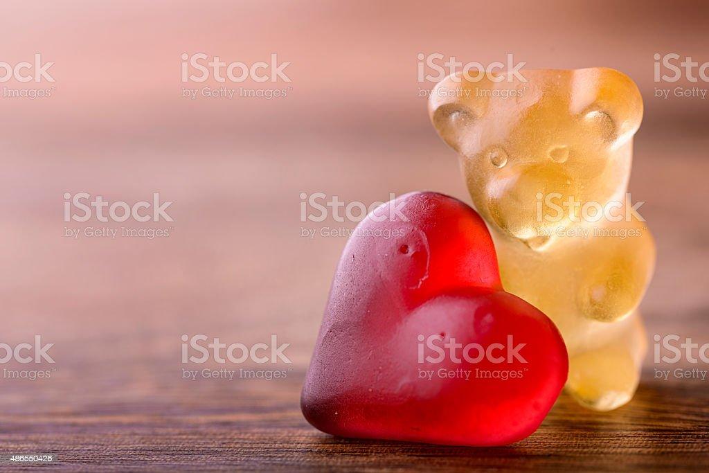 valentines bear stock photo