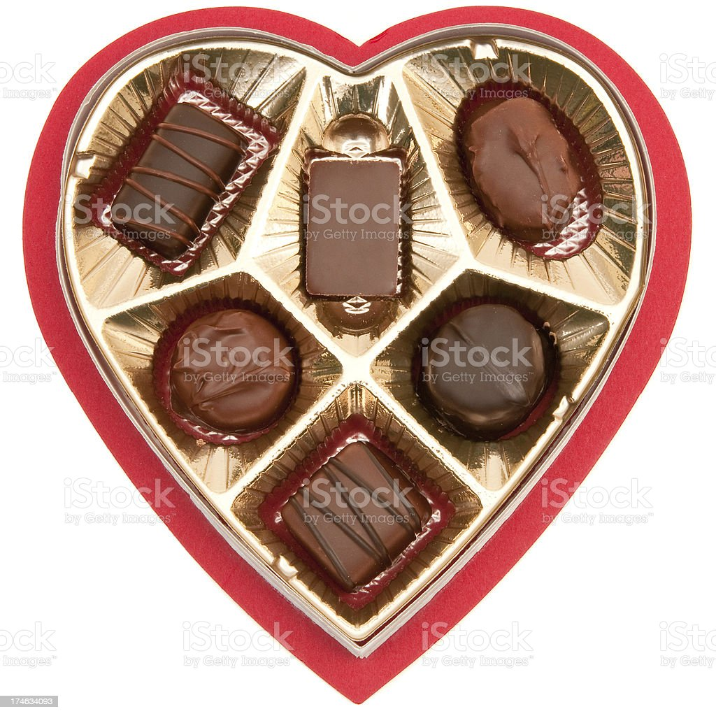 valentine's candy royalty-free stock photo