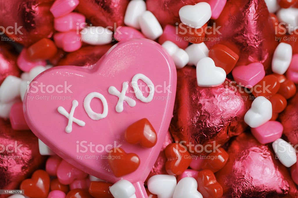 Valentines Candy royalty-free stock photo