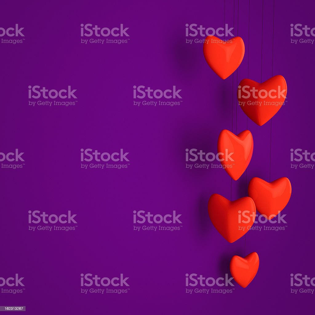 Valentines card royalty-free stock photo