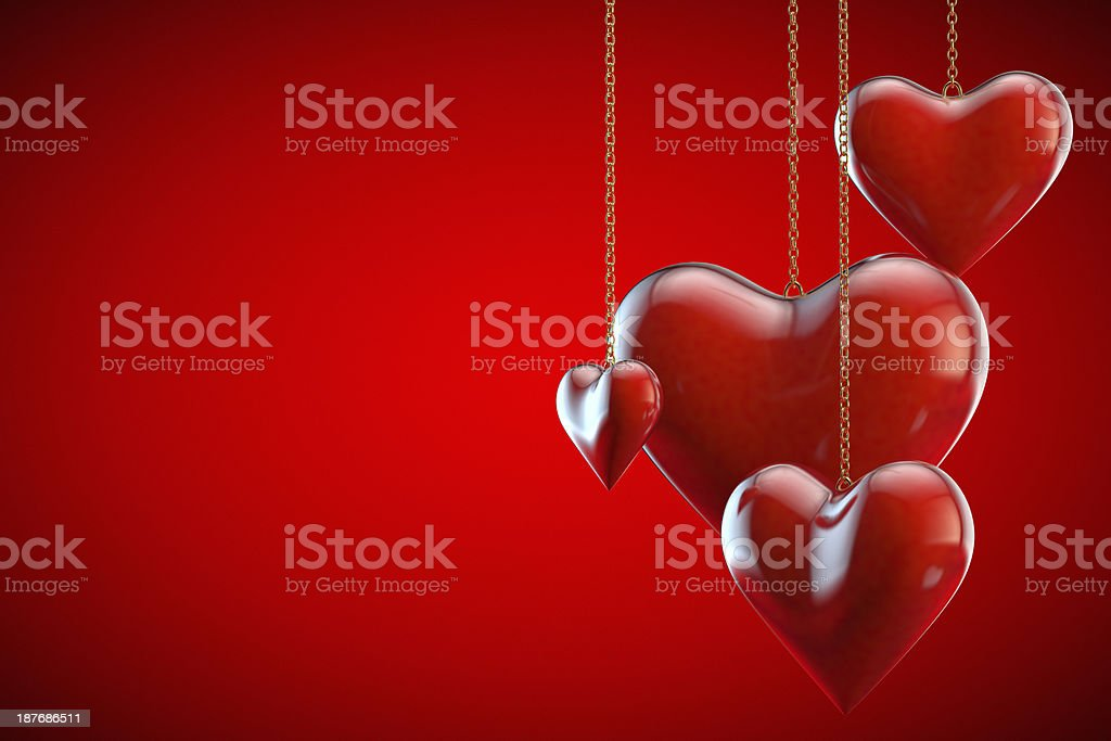Valentine's card royalty-free stock photo