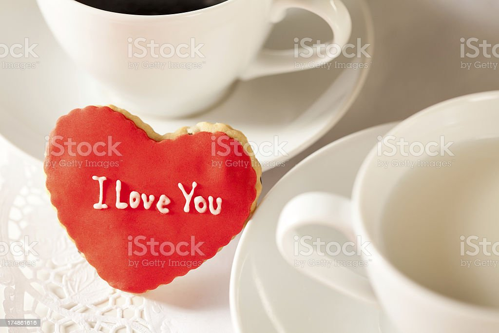 Valentine's Cookie royalty-free stock photo