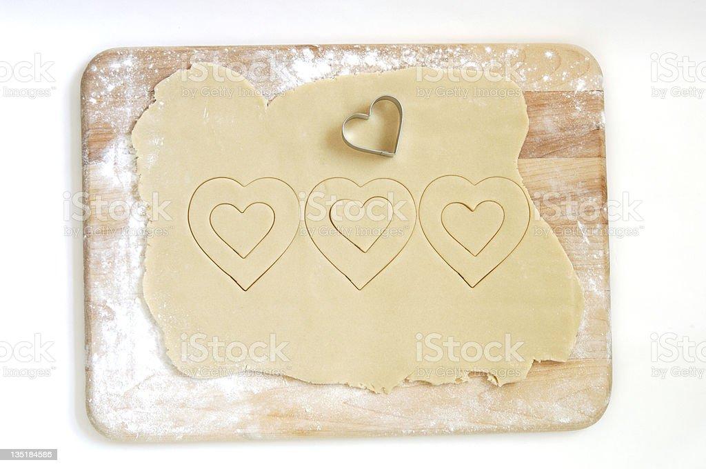 Valentines Cookies royalty-free stock photo