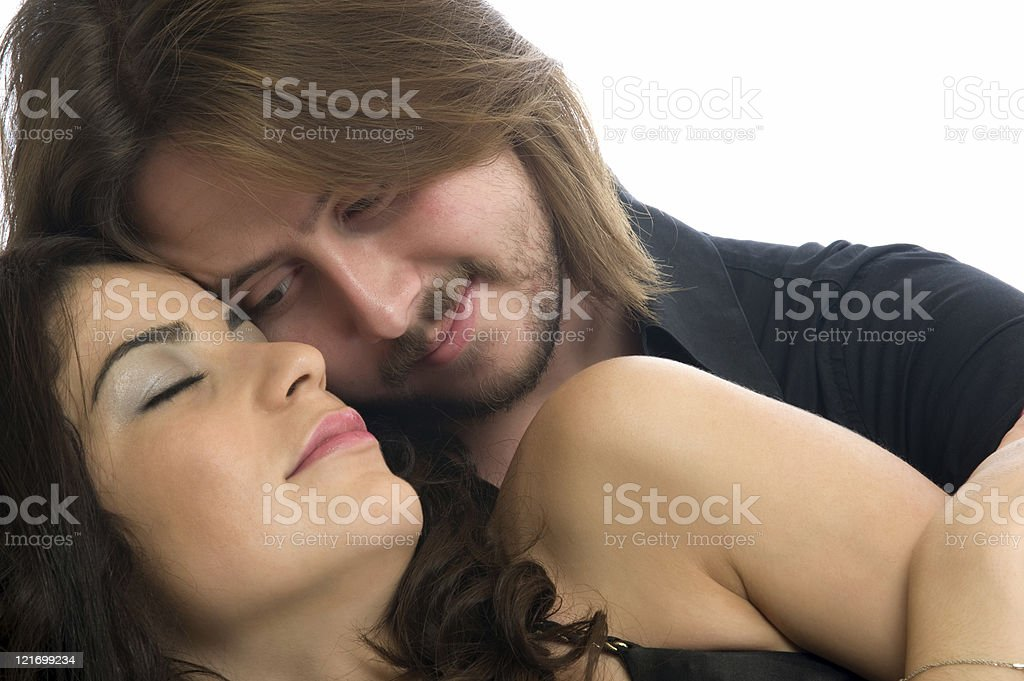 Valentines couple royalty-free stock photo