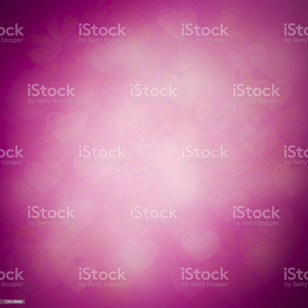 Valentines day abstract nature background with bokeh lights and royalty-free stock photo