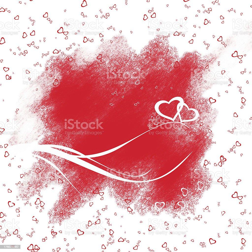 Valentine's Day Background royalty-free stock photo