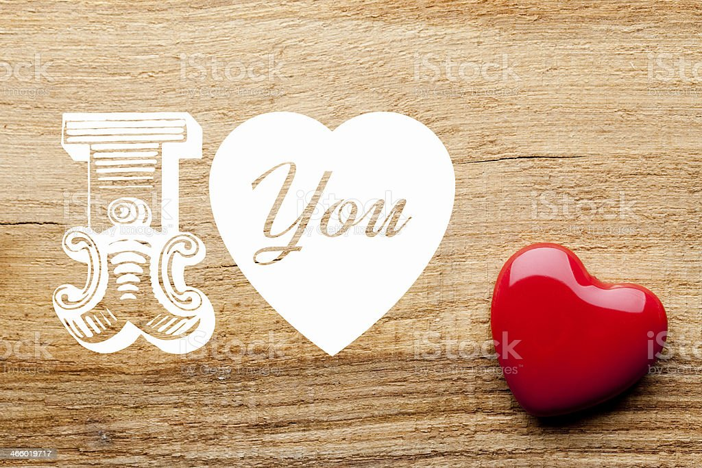 Valentines day background royalty-free stock photo