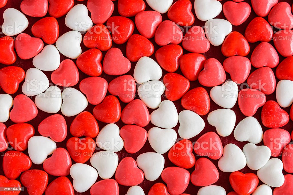Valentine's Day Candy and Romance stock photo
