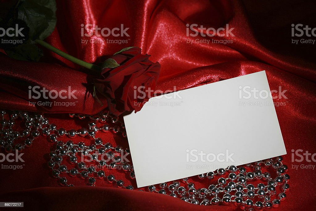 Valentines Day card with copyspace royalty-free stock photo