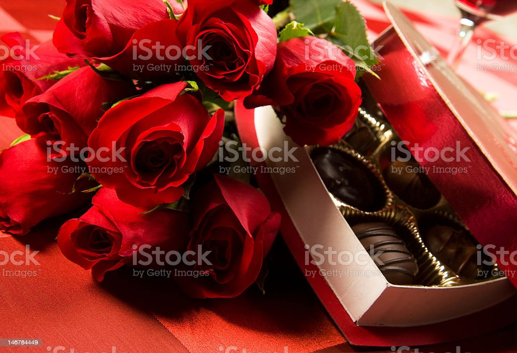 Valentine's Day Celebration royalty-free stock photo