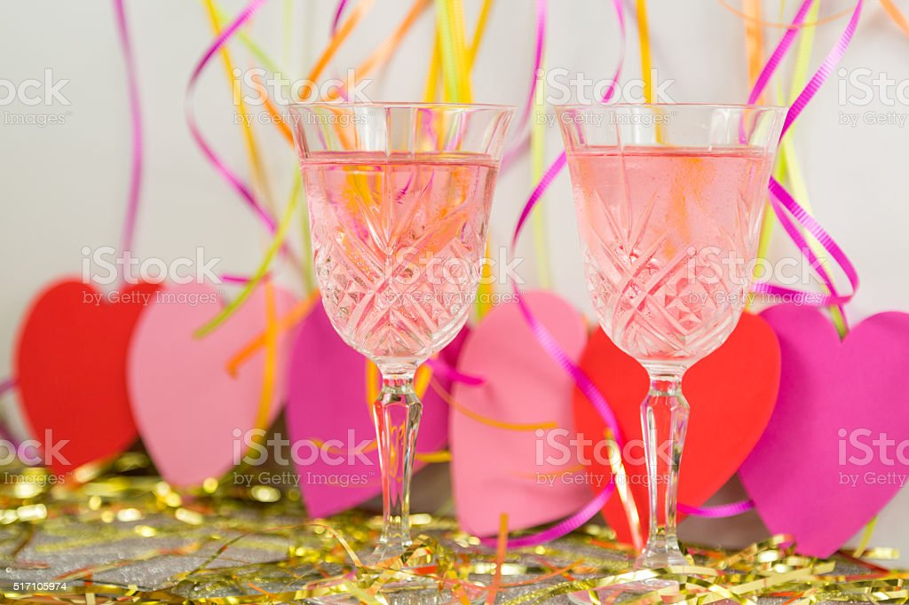 Valentine's Day Celebration stock photo