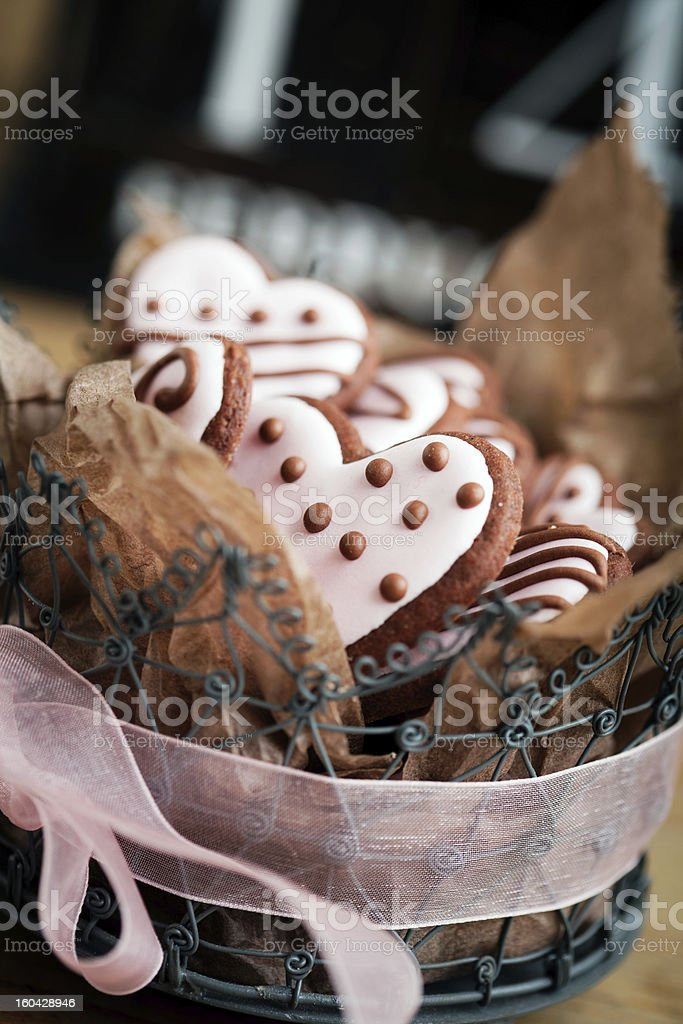 Valentine?s Day cookies royalty-free stock photo