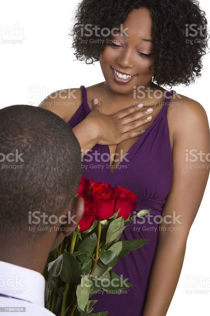 Valentines Day Couple royalty-free stock photo