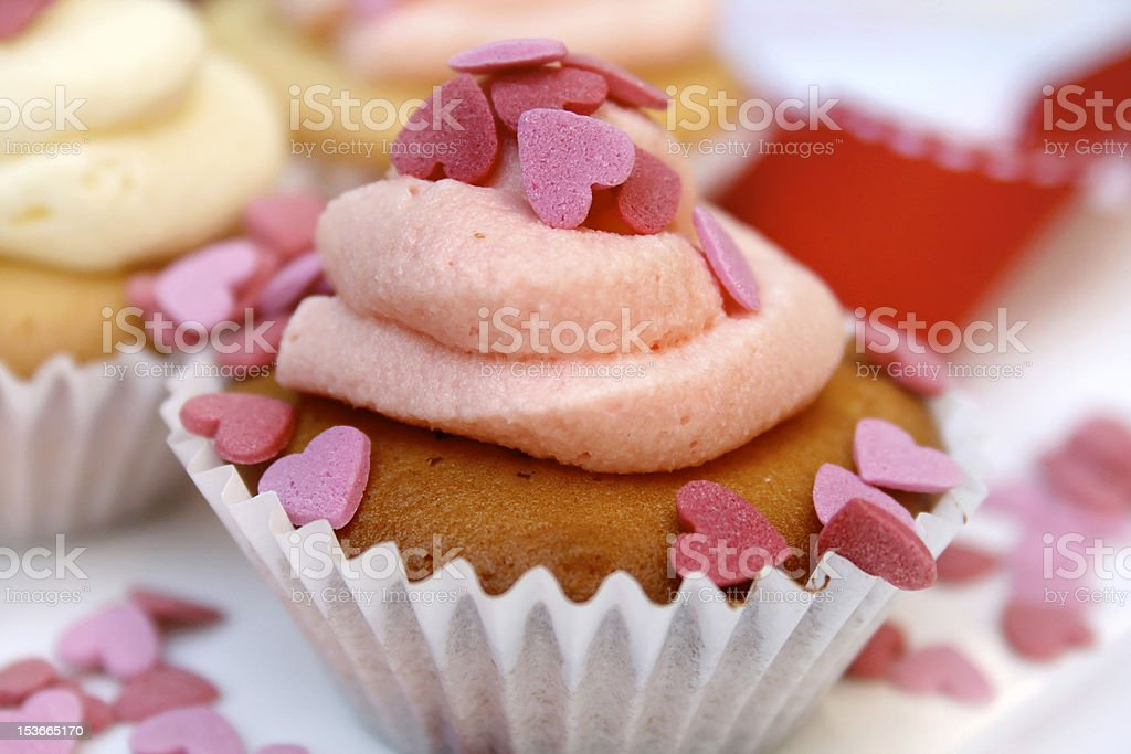 Valentines Day Cupcake royalty-free stock photo