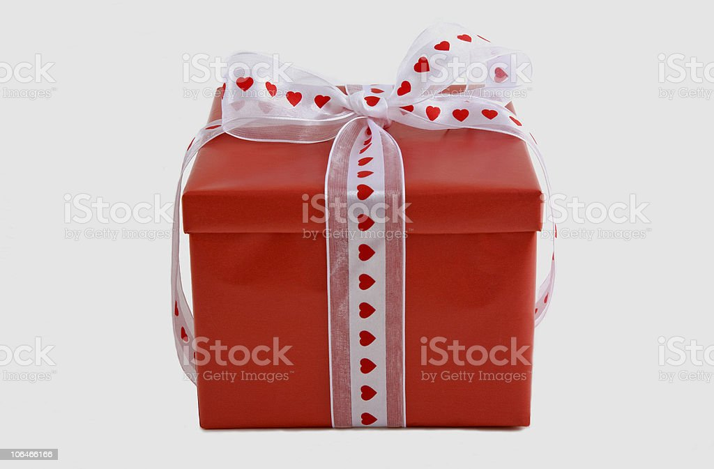 Valentine's Day Gift royalty-free stock photo