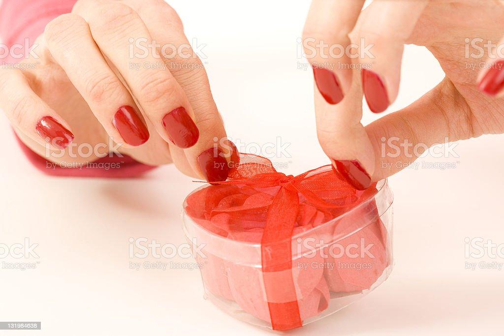 Valentine's Day Gift stock photo