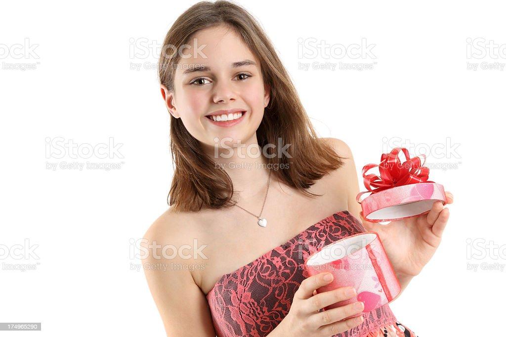 Valentine's Day gift royalty-free stock photo