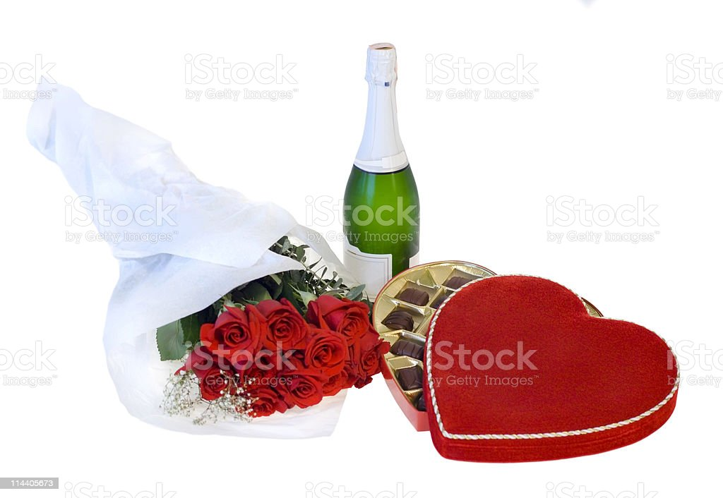 Valentine's Day Gifts royalty-free stock photo