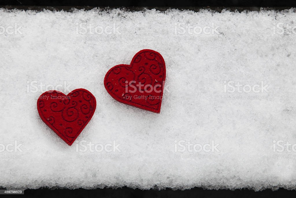 Valentine´s Day Greeting card with copyspace royalty-free stock photo