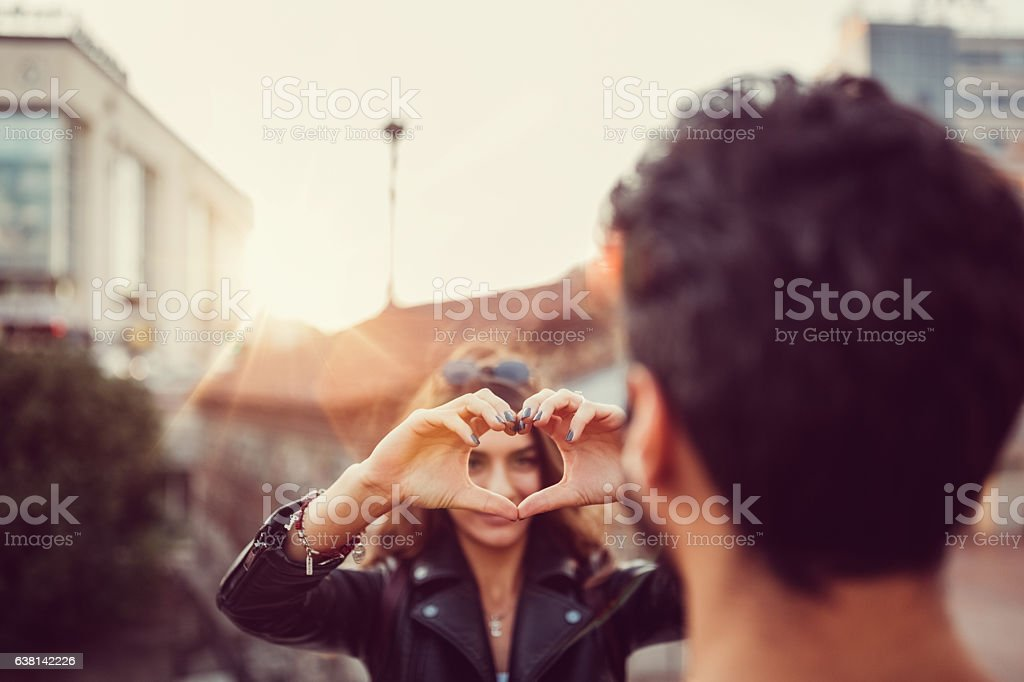 Valentine's day is today stock photo