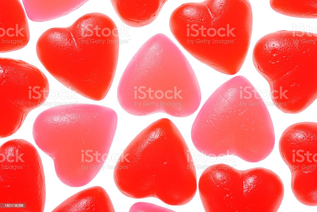 Valentine's day jujubes royalty-free stock photo