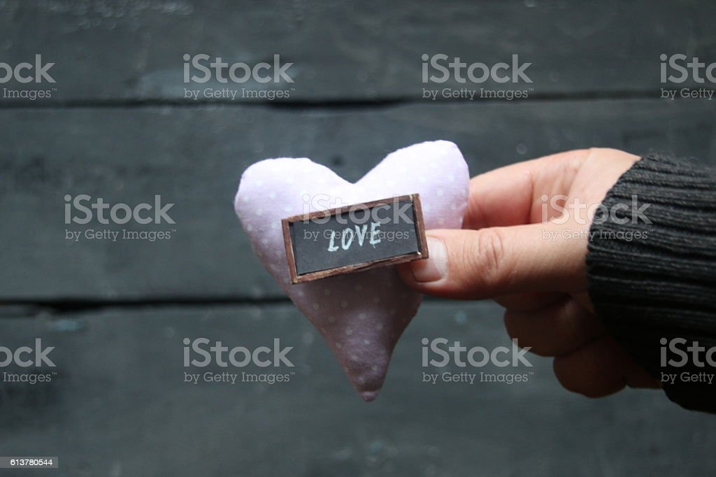 Valentines Day or love idea. Blurred photos for the background. stock photo