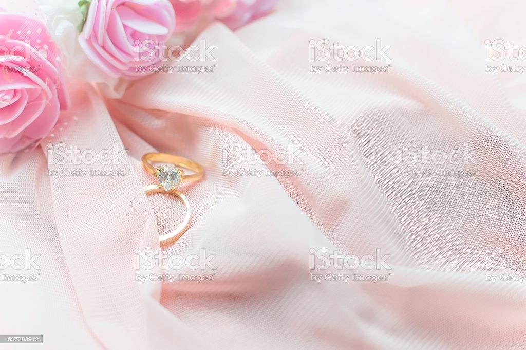 Valentine's day or wedding background stock photo