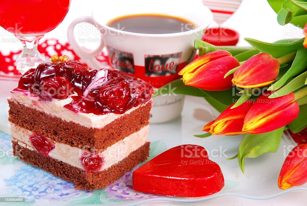 Valentine`s day party royalty-free stock photo
