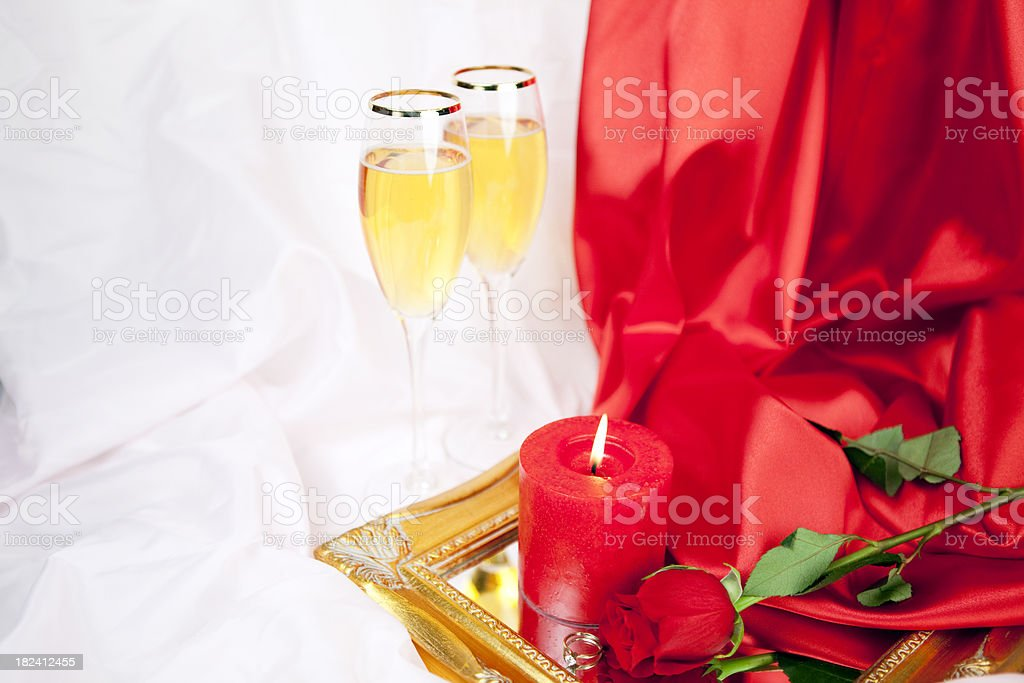Valentines Day rose Series royalty-free stock photo