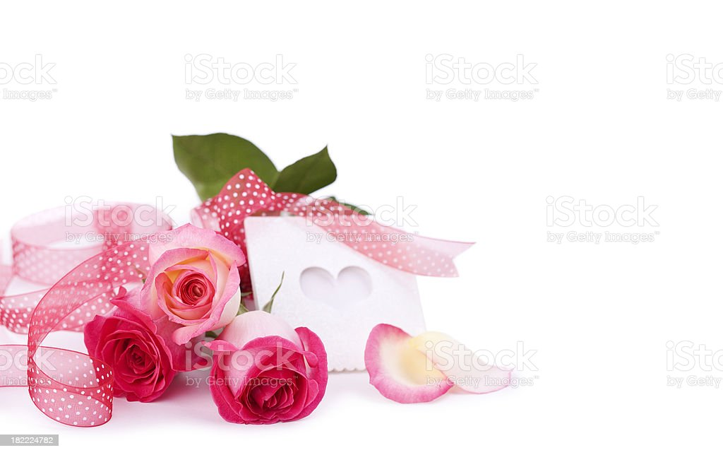 Valentine's Day Roses royalty-free stock photo