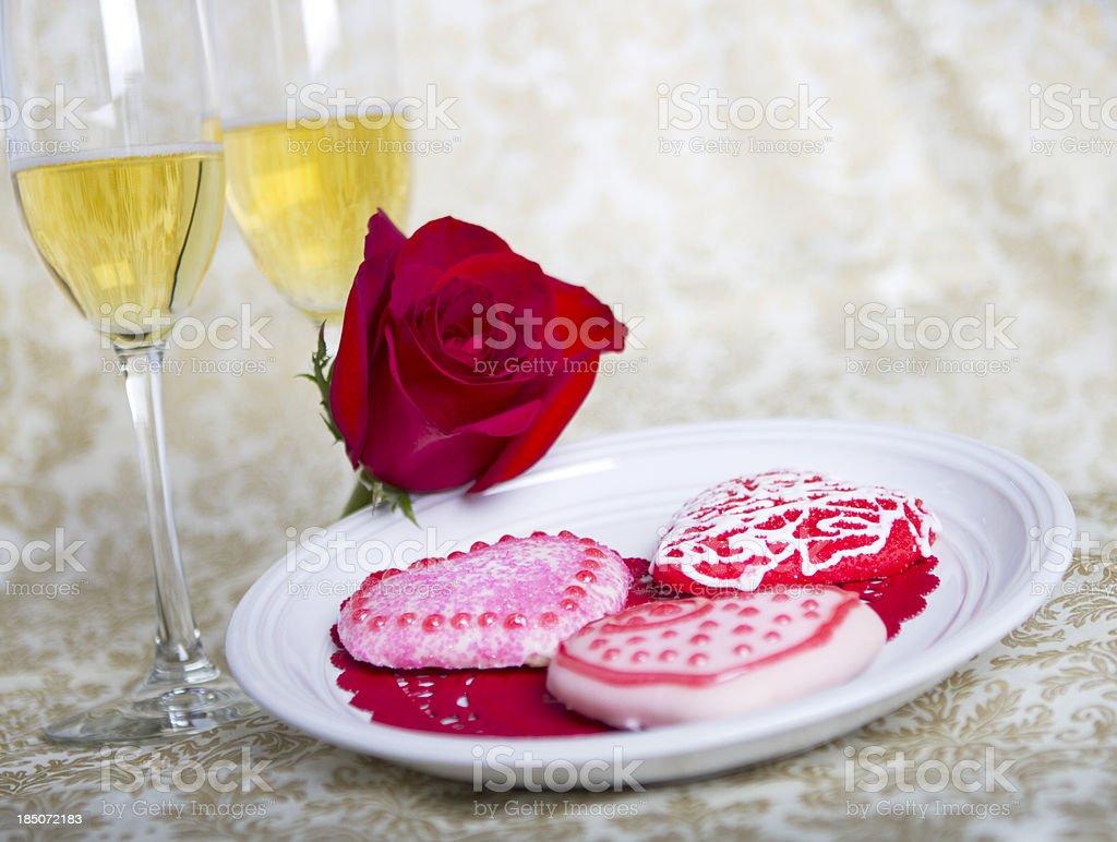 Valentine's Day Treats royalty-free stock photo